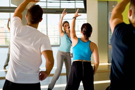 Sudėtingesnės aerobikos treniruotės sproto klubo naujokams - ne prie širdies.