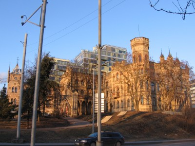 Paupyje, Vilniaus centre, yra štai ir tokių žavių vaizdų.