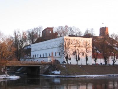 Pro Vilnių tekančios net dvi upės nepakankamai pritaikytos turizmui. Giedrės Balčiūtės nuotr.