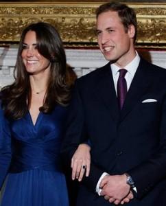 """Apie savo sužadėtuves su Kate Middleton princas William'as pasauliui paskelbė per """"TWitter"""". sugarslam.com nuotr."""